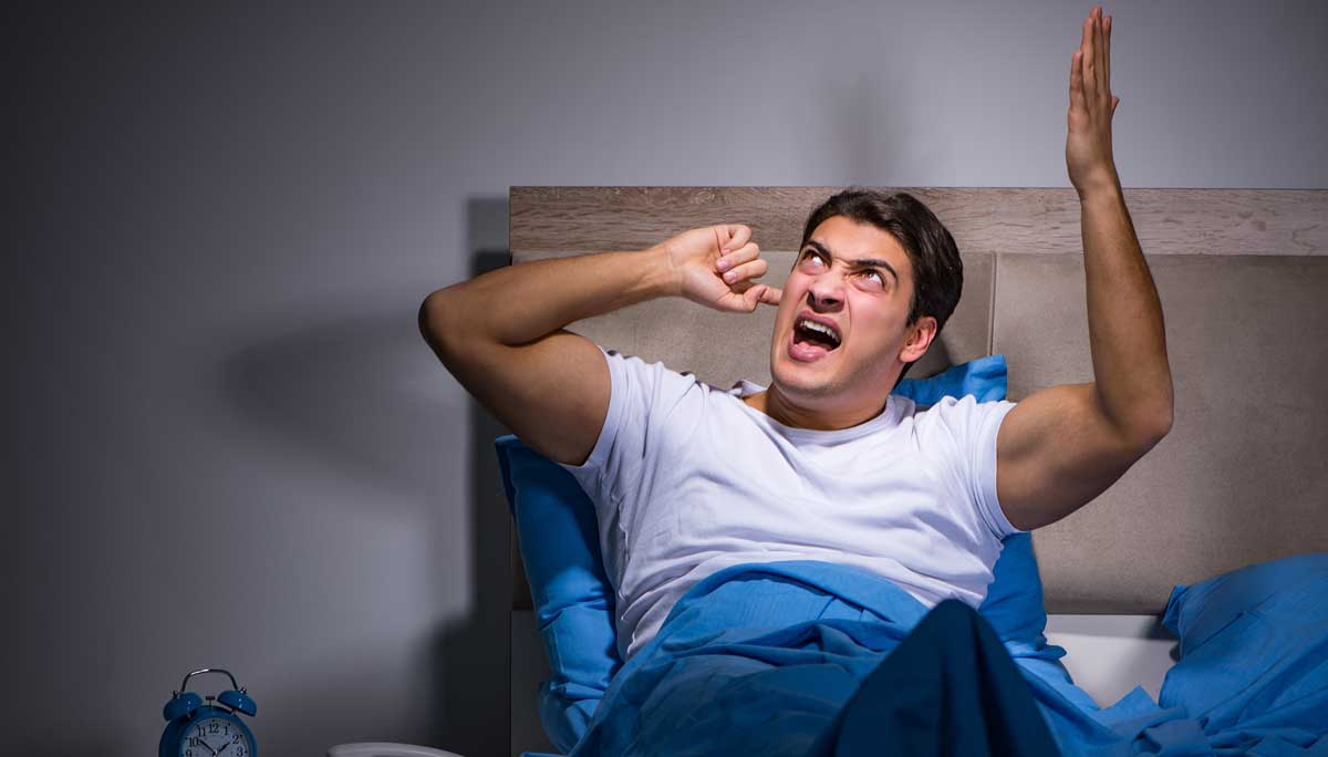 Laute Nachbarn können sehr lästig werden